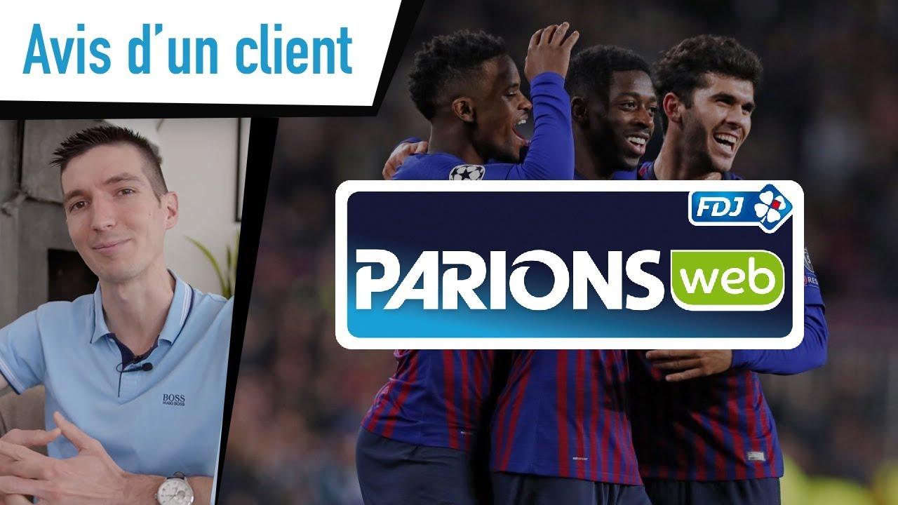 Parions Web Avis : jeu d'argent et de hasard en ligne de la Française des Jeux  | FDJ®
