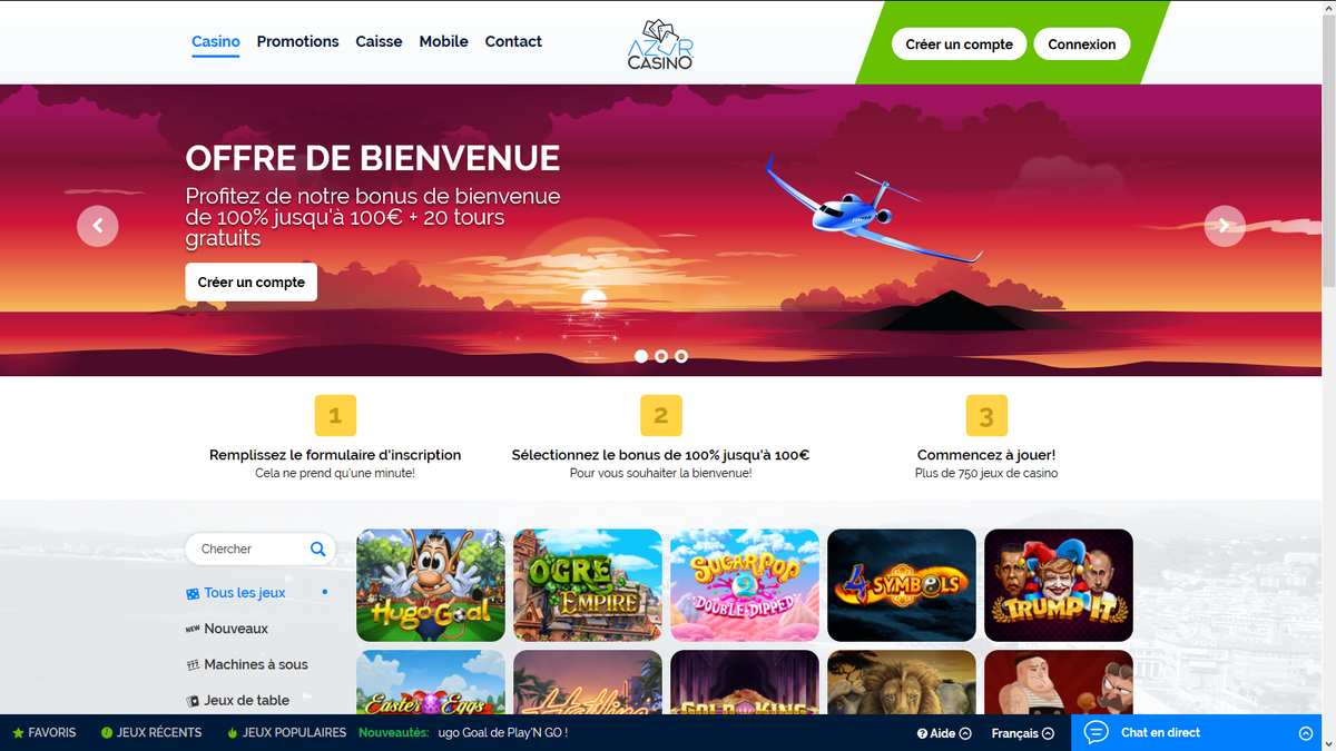 Avis Azur Casino : est-ce un casino de confiance ?