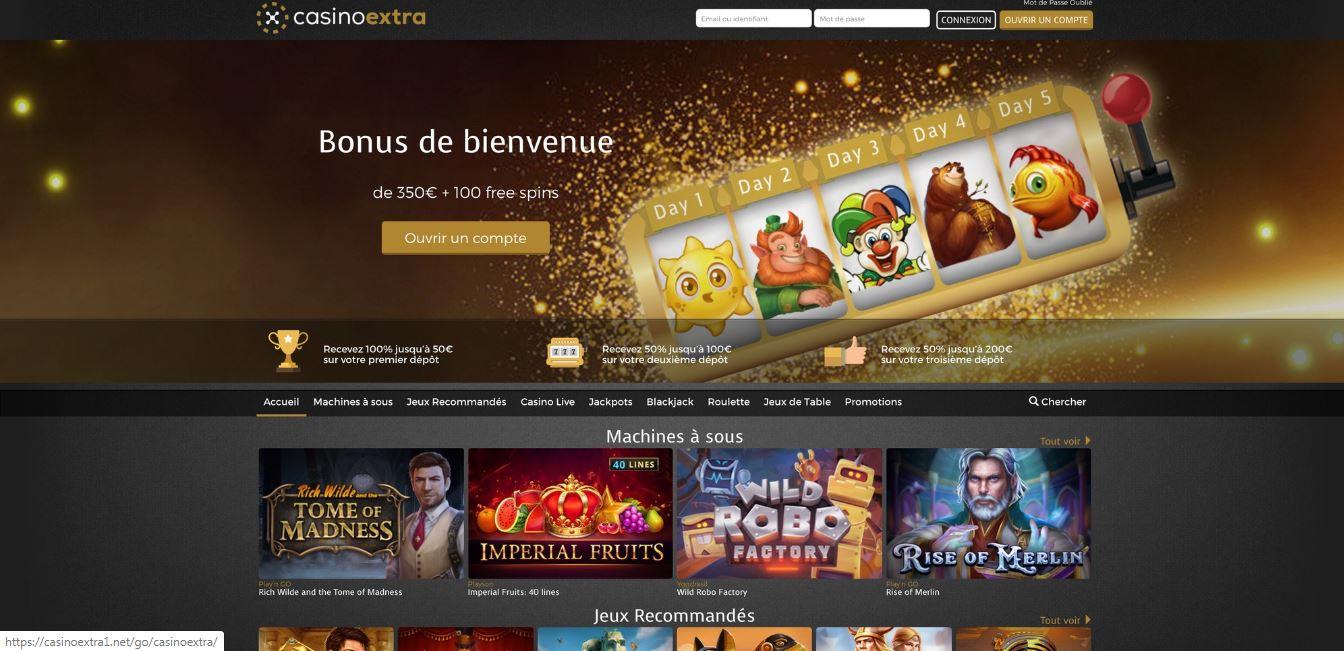 Avis Casino Extra : quels sont les avantages de ce Casino ?