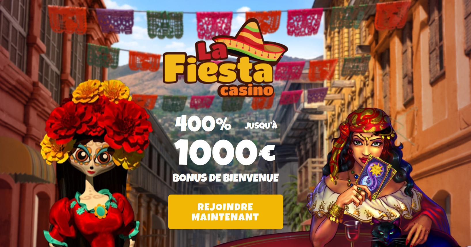 Casino La Fiesta : l'avis de notre équipe