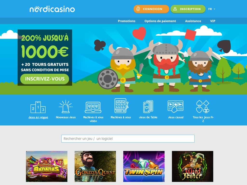 Avis Nordicasino : à la découverte de ce casino !