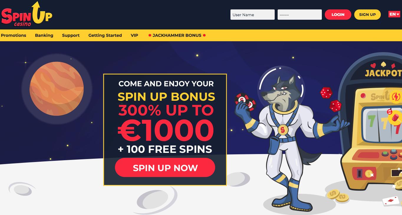 SpinUp casino, que vaut vraiment ce casino ? Notre avis