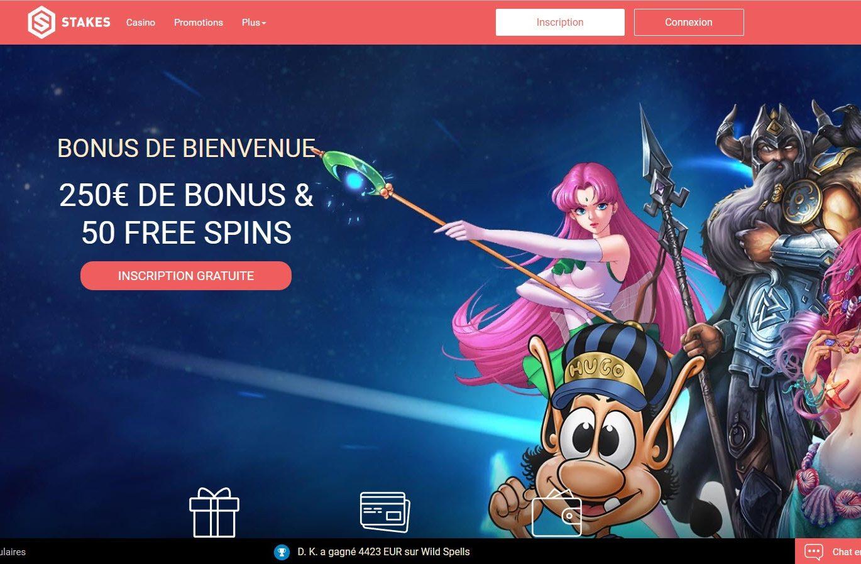 Casino Stakes, que penser de ce casino en ligne ?