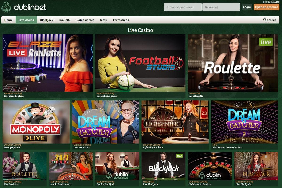 Dublinbet live roulette : une ambiance des plus grands casino réels