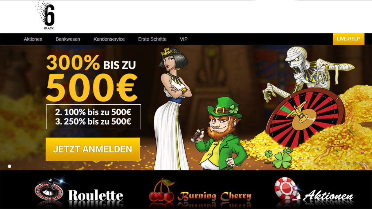 6Black casino avis : une revue détaillée !