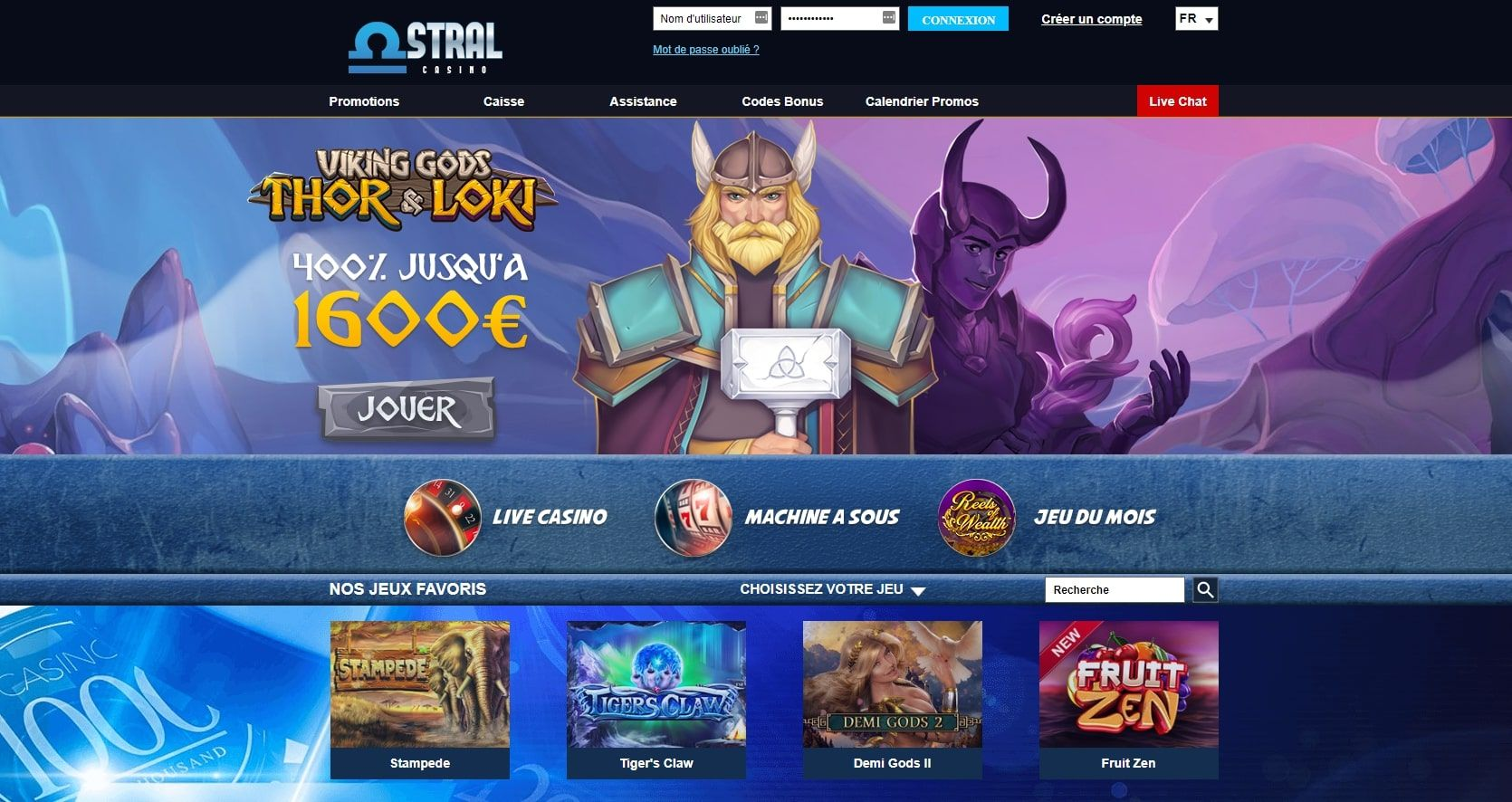 Astral casino avis : quels services propose le casino ?