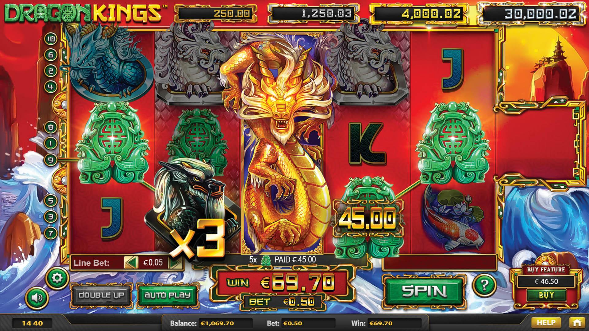 Machine à sous gratuite 50 Dragons