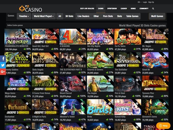 Jeux du casino PH