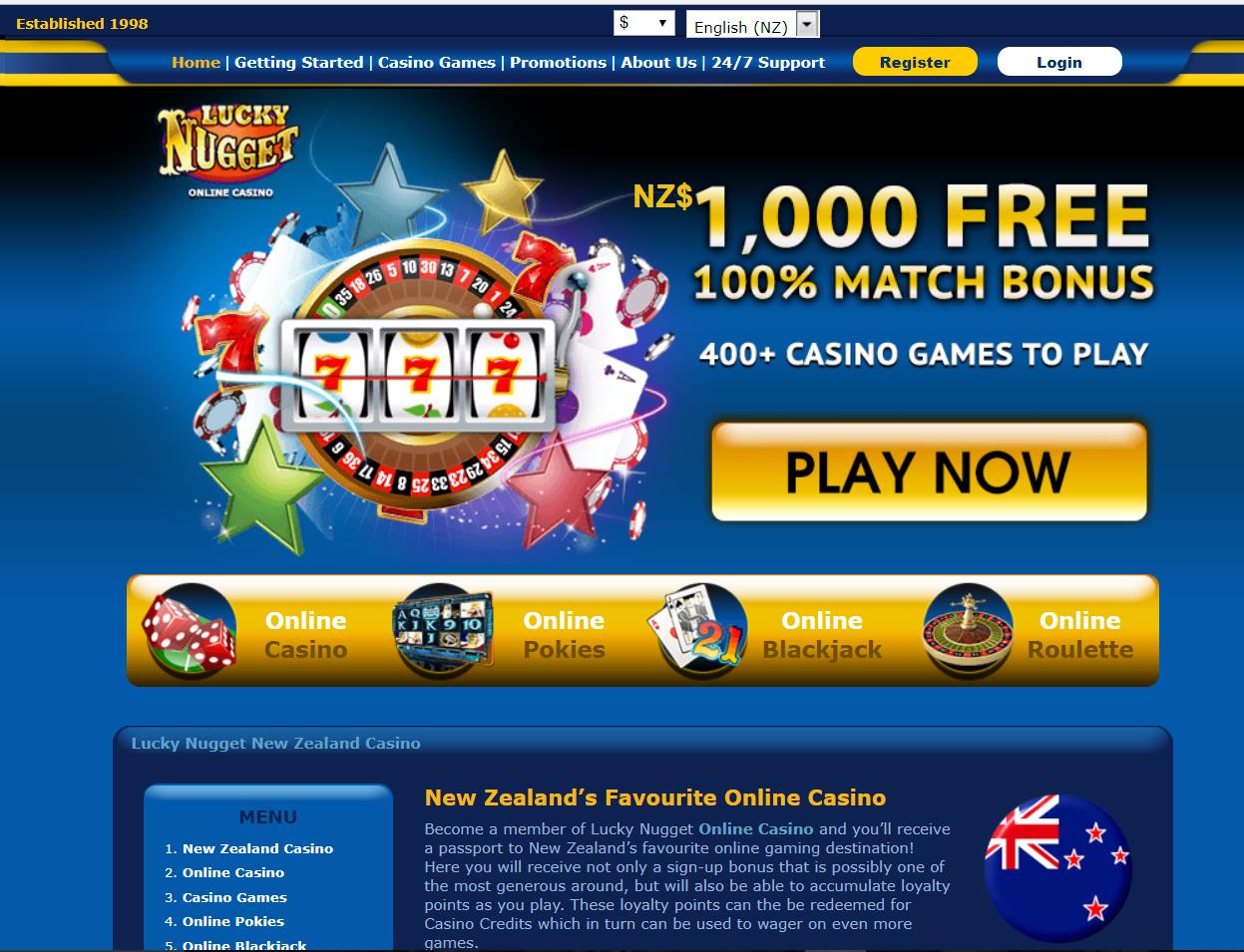 Lucky Nugget casino avis : analyse et avis de cette plateforme !