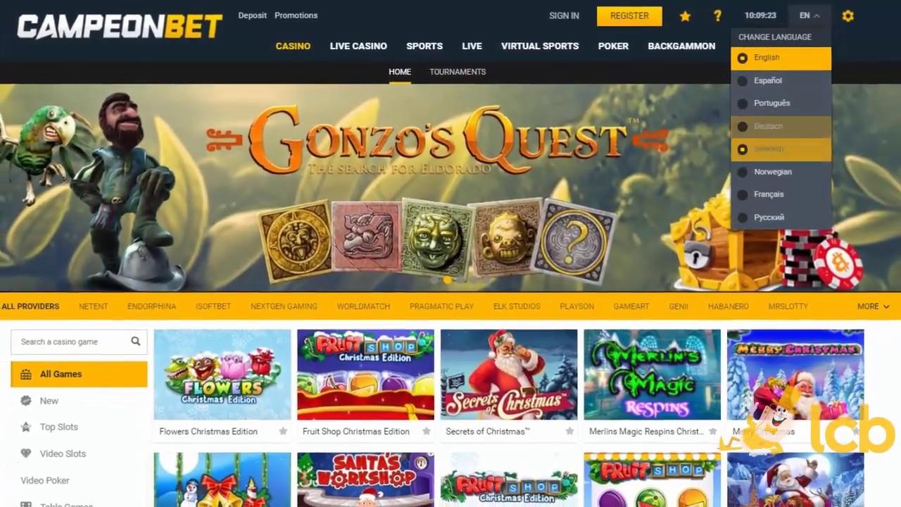 CampeonBet avis : avis détaillé sur ce casino et son offre de 5000 € !